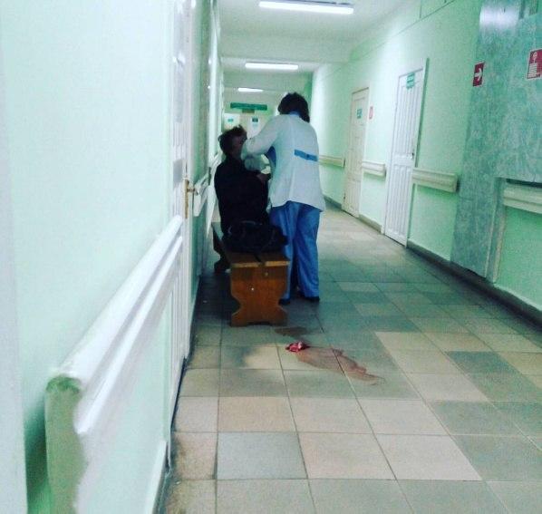 Порно в коридоре больницы