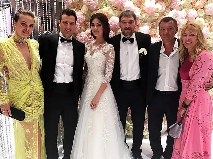 Свадьба овечкина и шубской 2018 сколько обошлась